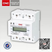 China Top 500 enterprises high quality din rail RS485 DDS226D-1P M rail single phase electric meter prepaid energy power meter