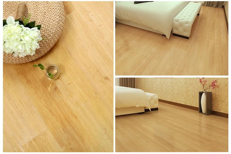 barato suelo pvc vinilo tabla de piso de para uso en el hogar