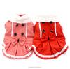 Fleece Bow Warm Sexy Winter Dog Dress Wholesale