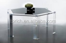 New in 2012 clear acrylic table office&restaurants