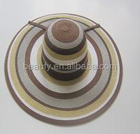 Italy fashion style lady floppy hat