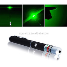 EEO 2015 New Products Wholesale High Power 5mW 532nm Green Laser Pointer for Christmas Gift