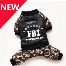 2014 New Hot FBI Dog Clothes Pet Products