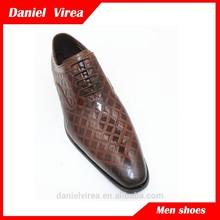 De china del alibaba zapatos de cuero de canguro hombres