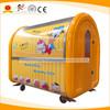 Mobile fast food cart for sale noodle boiler vending trailer hot sale concession stand