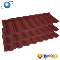 GKR-NC23 Spanish Colored Stone Granules Coated Metal Roofing Sheet