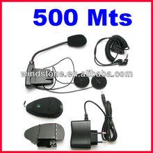 Interphone 500 Meters Bluetooth Motorcycle Helmet with Headset