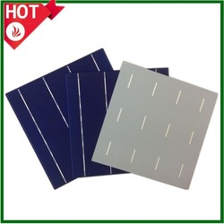 Hottest High efficiency A grade/B grade 3BB/4BB poly solar cell made in Taiwan