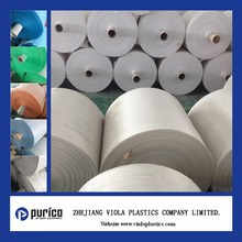 Viola plastic woven polypropylene tube roll used for chemical, feed, packaging, industrial applications
