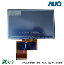 4.3'' TFT LCD screen with 4-wire resistive touch panel 480x272