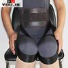 Magnetic waist support belt for men