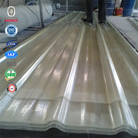 The most advanced equipment corrugated frp light panels for civil project
