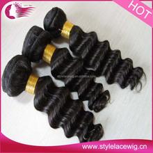 wholesale high quality grade 7a virgin brazilian short human hair weave