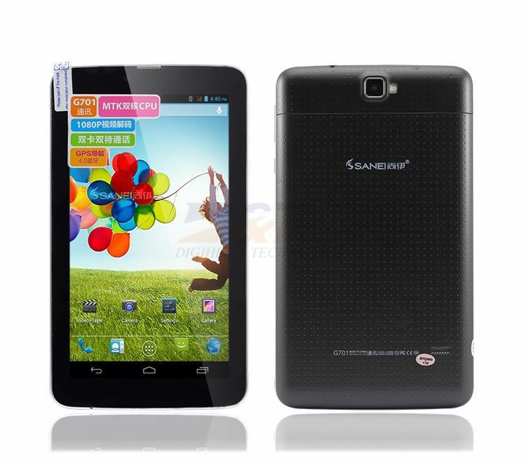 Планшетный ПК Sanei G701 2G 7/mtk6572 800 * 480 Wifi GPS Bluetooth SIM