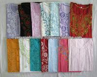 Best Queality Lucknowi Cotton Chikan Kurtis