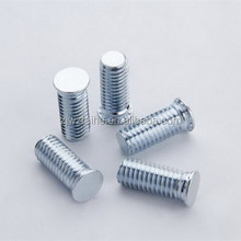 Self-clinching screw in hardware fastener