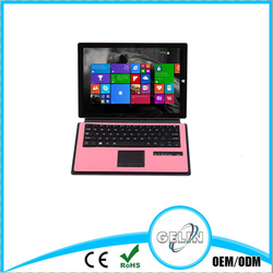 2015 shenzhen detachable ABS mini bluetooth keyboard for Microsoft Surface 3