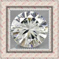 Hearts&arrows Round Brilliant Cut White Cubic Zirconia Stone in Loose Gemstone Wholesale Price