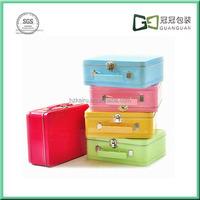 Kairu various Colored tin food packaging lunch box