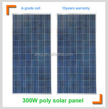 300W cheap price per watt solar panels China factory