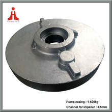 1.4460 casting pump casing cover manufacturer by investment casting