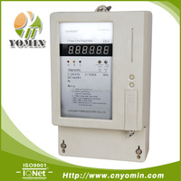 Front Board Installed Three Phase Prepaid Energy Meter Prepayment Electricity Meter