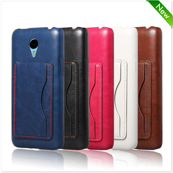 Factory Price Leather Flip Case Cover For Meizu M2 Note
