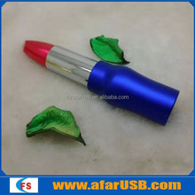 Vogue Lipstick usb flash memory,Valentine's Day gift usb flash drive,hot sell usb flash disk