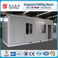 World cup modern small& exquisite prefab house container for office/dormitory/living house/shop/kitchen/toilet