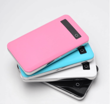 factory direct 5000 mah slim mobile solar charger cover