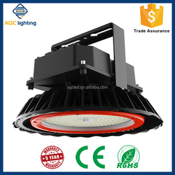 140lm/W IP65 LED high bay light fixtures 70W-300W for warehouse/hangar application with Zigbee remote control UL&DLC listed