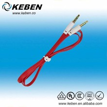 get it =gain hot sales shielded audio cable mono to stereo cable rca audio cable with ground wire