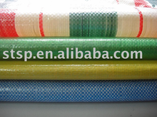 Factory Pirce Stripe PE Plastic Tarpaulin Size 2m*50m and 2m*100m