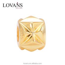 925 Silver Charms Gold Plated Bulk Charm Bracelets Jewelry Charm Wholesale YZ812