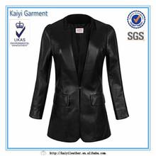 chine fournisseur de vêtements de conditionnement physique à long femmes veste parka classique