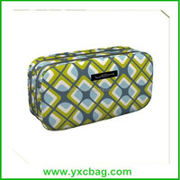 Custom Full Print Travel Toiletry Bag Polyester Cosmetic Bag for Promotion