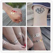 2015 popular new design women sexy body temporary tattoo flash