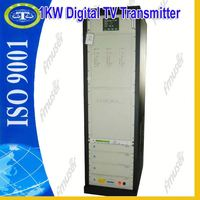 1KW DVB-T Digital tv transmitting digisenders D3