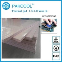 400x200x4 Highest thermal conductive silicon pad for led TP 215 4MM