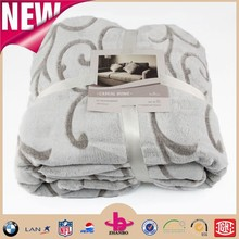 2015 new super soft printing clip cord microfiber flannel blanket /reasonable free sample factory price good quality blankets