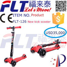 Manufacture export low price foot pedal scooter for kids