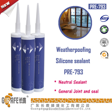 One Part Neutral Cure Non-toxic Glass Silicone Sealant