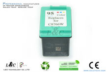 Cartucho de tinta c8766wn/#95 para hp deskjet