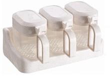 The best three parts plastic seasoning box