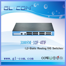 Fiber networking ftth 10G Switch Routing Switches