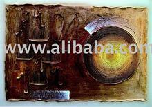 acrylic painting, textured on canvas, handmade ,exclusive brazilian art