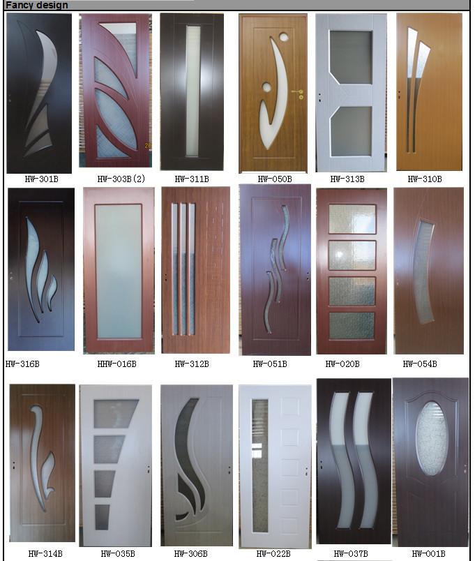 Wholesale wholesale interior pvc wood doors - Puertas modernas de interior ...