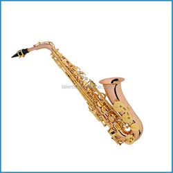 Woodwind musical instrument alto saxophone with Eb key