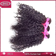 top grade curly hair and supreme remy hair weave
