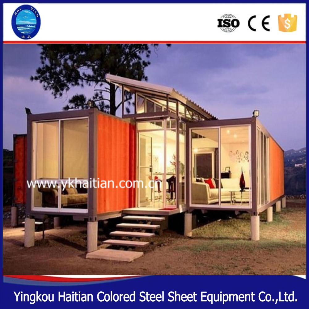 Modified container house price container home kits for for Low cost home building kits